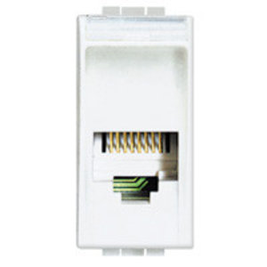 Bticino LL - RJ11 connector, 1module