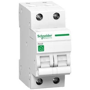 Schneider Automatische zekering 2P - 6A - 3kA - curve C