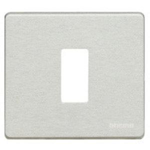 Bticino 500/1/AL Magic aluminium Afdekplaat 1 module