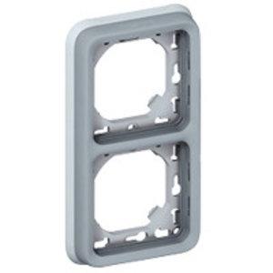 Legrand Plexo Inbouwkader- 2 Verticale mechanismen