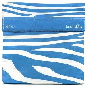 Lunchskins Aqua Zebra: het milieuvriendelijke en herbruikbare boterhamzakje.