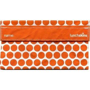 Lunchskins Oranje Stip: het milieuvriendelijke snackzakje.