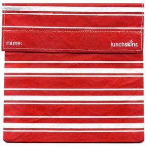 Lunchskins Rode Strepen: het milieuvriendelijke en herbruikbare boterhamzakje.