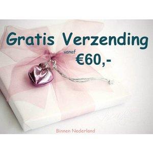 Gratis Verzending vanaf €60.- (binnen Nederland)