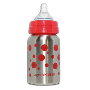 OrganicKidz™ Wide Mouth Rode Stippen 270ml