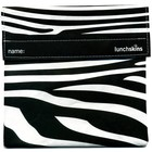 Lunchskins Zwarte Zebra