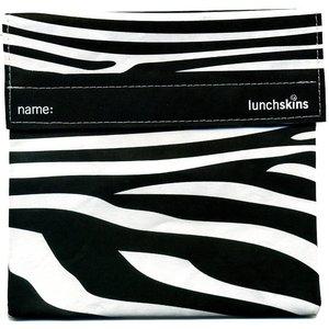 Lunchskins Zwarte Zebra: het milieuvriendelijke en herbruikbare boterhamzakje.