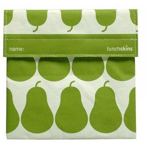 Lunchskins Groene Peren: het milieuvriendelijke en herbruikbare boterhamzakje.
