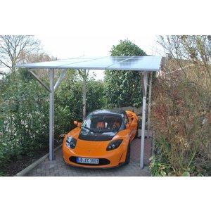 SCHULZ Systemtechnik Basic Solar Carport ALL BLACK