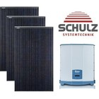 Canadian Solar Complete systemen Canadian Solar CS3K-300 MS KuBlack | 12 panelen 3.600 Wp - Delta