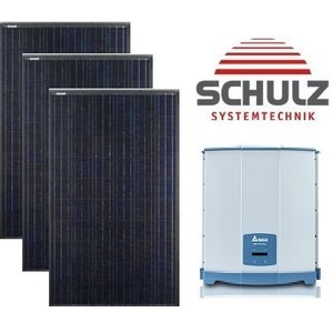 Canadian Solar Complete systemen Canadian Solar CS6K-M 295 WP full black | 22 panelen 6.490 Wp - Delta