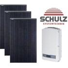 JA Solar Complete systemen JA Solar JAM 60-305 WP full black | 24 panelen 7.320Wp - Solar Edge