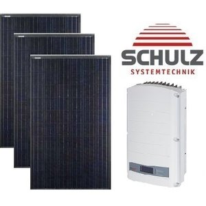 Canadian Solar Complete systemen Canadian Solar CS6K-M 295 WP full black | 22 panelen 6.490Wp - Solar Edge