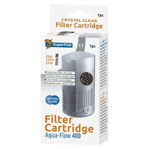 Superfish Aqua-Flow 400 Crystal Clear cartridge