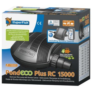 Superfish Pond Eco Plus RC 15000 Vijverpomp