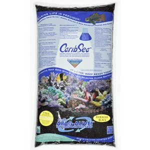 CaribSea Hawaii Black 0-1mm - 9,07kg