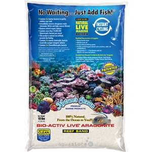 Nature's Ocean BioActiv Live Sand white 0,5-1,7mm - 9,07kg