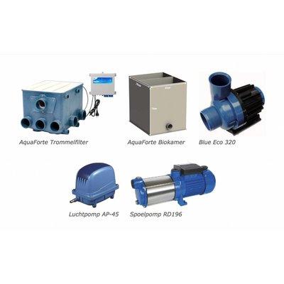 AquastoreXL Trommelfilter compleet 35-45 m3