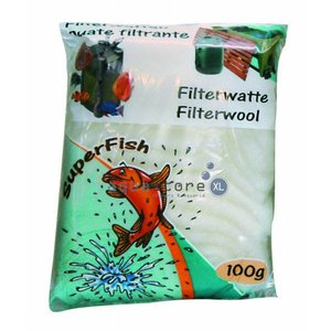 Superfish Witte filterwatten 100g