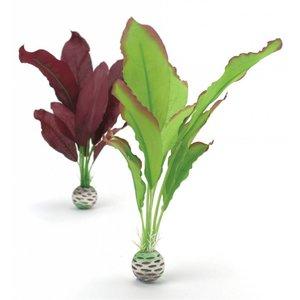 biOrb Zijde plant 2x medium paars/groen
