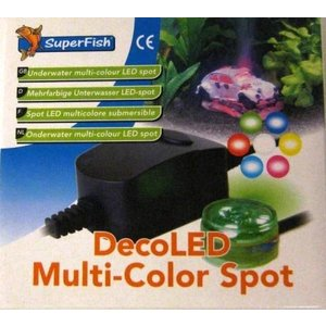 Superfish Deco LED Multi-Color Spot