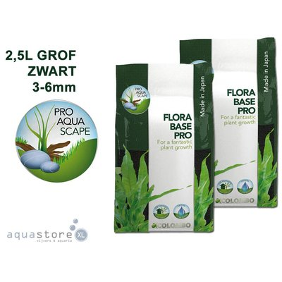 Colombo Flora Base pro grof zwart 2,5L