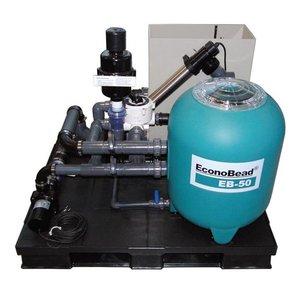 Aquaforte compleet Econobead filtersysteem EB-60 met BLUE ECO