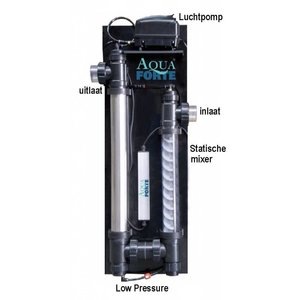Aquaforte Los kwartglas voor Ozon Redox Unit (na 08/2010)