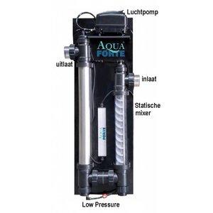 Aquaforte Ozon Redoc UVC high pressure, incl verturi & kogelkraan aansluiting