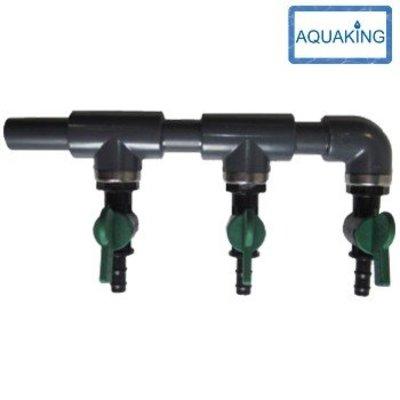 Aquaking Aansluiting 5-groeps