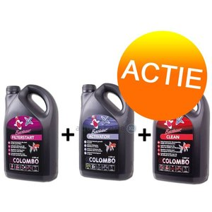 Colombo 1x 500ml clean + 1x 500ml start +1x 500ml activator
