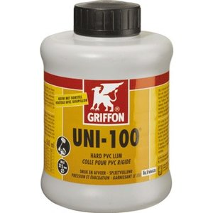 Griffon PVC lijm Uni 100 1000 ML