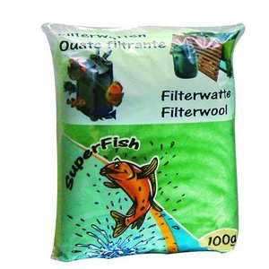 Superfish Groene filterwatten Grof 250 gram