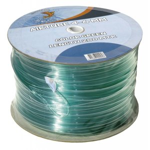 Superfish Luchtslang 4-6mm Groen - Per meter