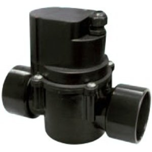 cilinderkraan Automatische 2-weg kraan 63mm 24VAC