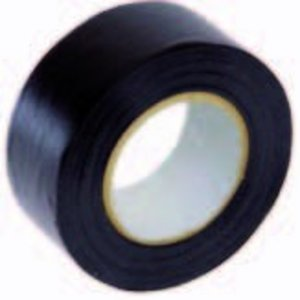PVC tape zwart