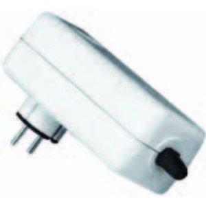 Universele stekker met ingebouwde thermische beveiliging 1 ampère