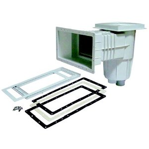ABS skimmer met brede mond voor beton/foliebaden