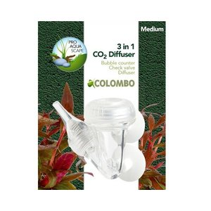 Colombo 3 in 1 CO2 Diffuser Large