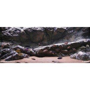 Rockzolid Background Papua Grey 128x48cm