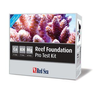 Red Sea Reef Foundation Pro Multi Test kit (Ca,Alk,Mg)