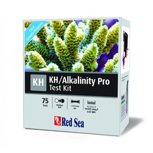 Red Sea Alkalinity Pro Titrator Test Kit (75 tests)