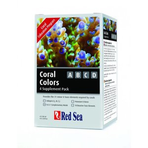 Red Sea Coral Colors Pro MultiTest Kit (I2,K,Fe)