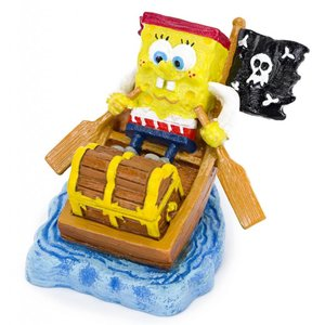 PENN PLAX Spongebob in a Rowboat