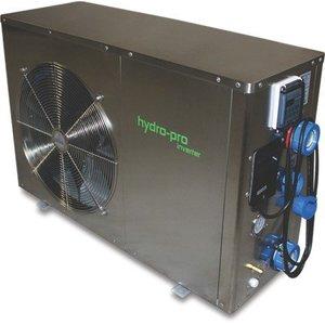 Hydro-Pro+ Warmtepomp RVS 230V Inverter type 26 horizontaal