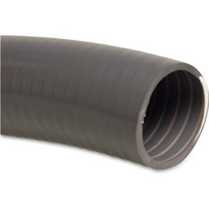 Mega Zwembadslang PVC 20 mm x 25 mm 7bar grijs type Poolflex
