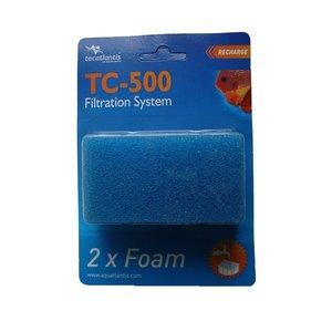 Aquatlantis FILTERSPONS TBV TC500 TORTUM PER 2 STUKS