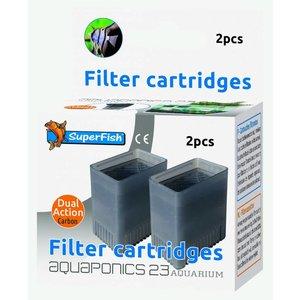 Superfish filtercartridges aquaponics 23