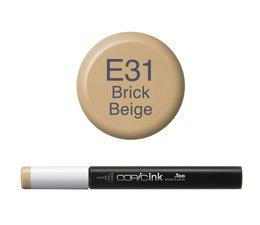 Copic inktflacon Copic inktflacon E31 Brick Beige