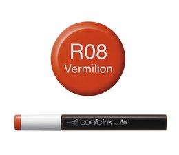 Copic inktflacon Copic inktflacon R08 Vermilion